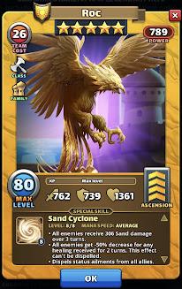 Roc Sand Empire Hero Card