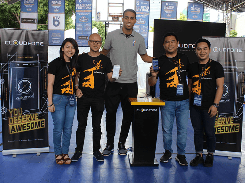 Team CloudFone x NBA's Kevin Martin