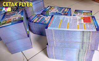 Tempat Jasa Cetak Flyer Brosur Murah di Kalideres, Jakarta Barat