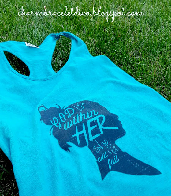Psalm 46:5 God is Witihn Her Iron-on Transfer t-shrit