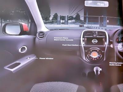 Gambar Desain Interior Nissan March
