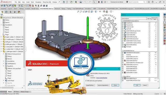 SolidWorks v2021