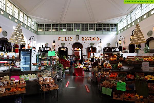 Comercio promociona las compras en el mercado tradicional de La Recova de Santa Cruz de La Palma