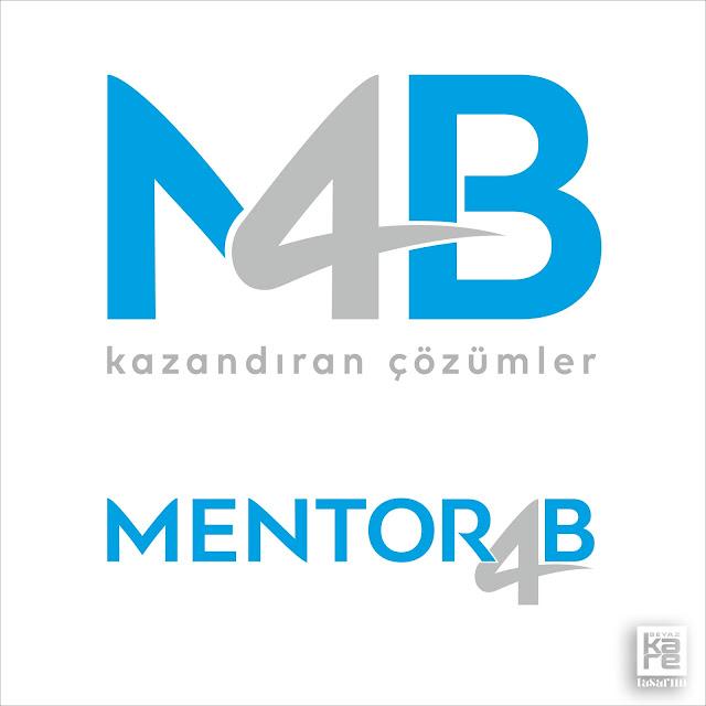 mentoring finans logo tasarımı