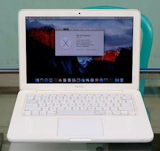 Jual Macbook White Unibody Bekas
