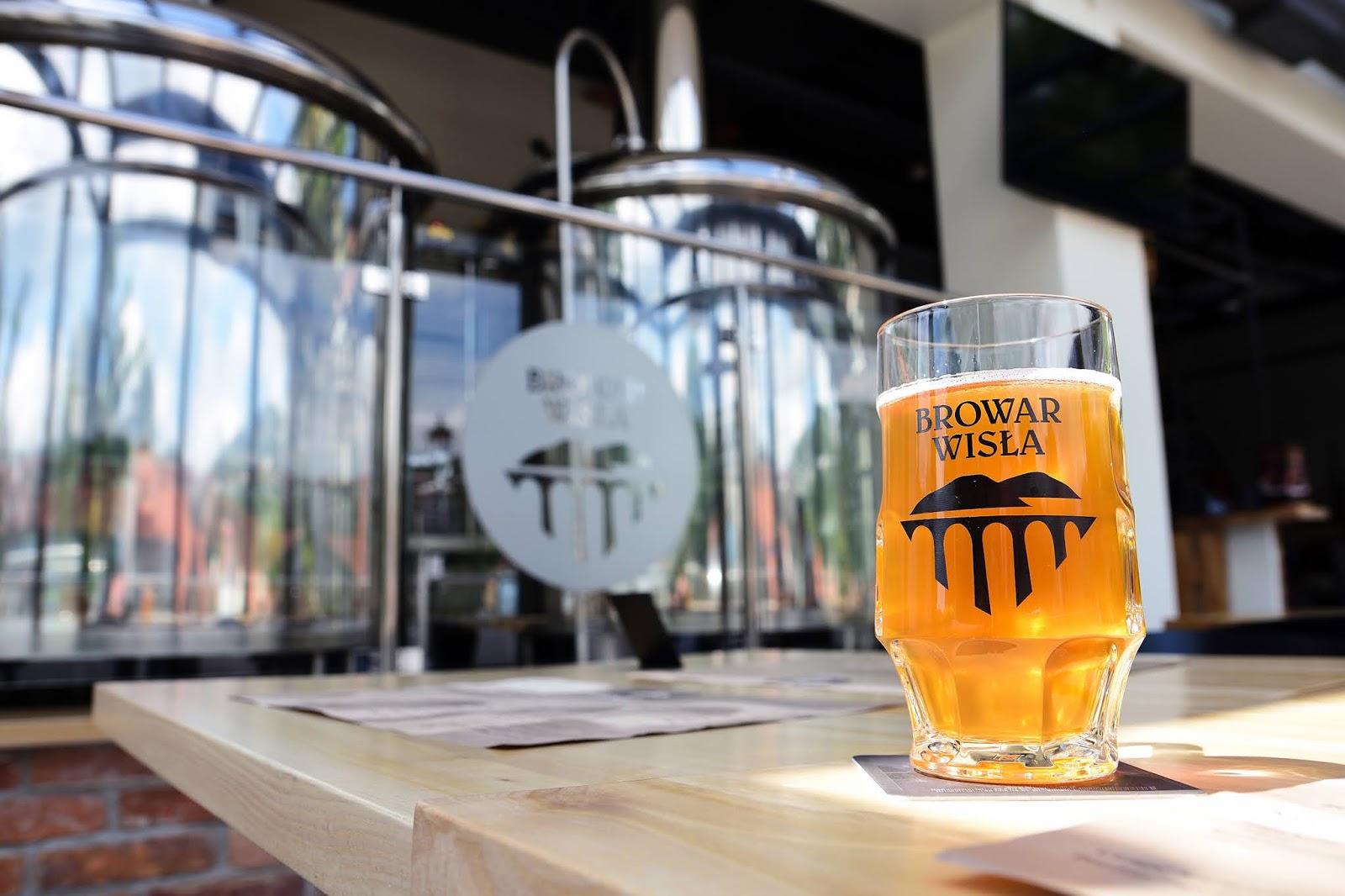 Browar Wisła - piwo w dworcu kolejowym