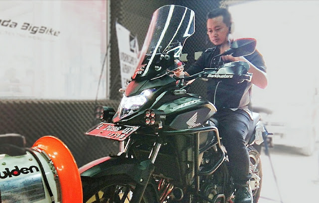 top speed honda cb 500 x