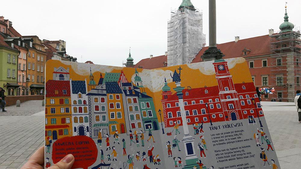 Książka Moje Miasto Warszawa Paweł Beręsewicz Recenzja