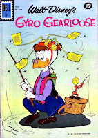 Gyro Gearloose / Four Color Comics #1184 dell silver age 1960s comic book cover art by Carl Barks