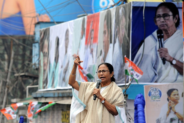 West Bengal Chief Minister and TMC chief Mamata Banerjee