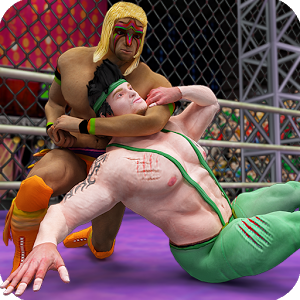 Cage Wrestling Revolution Ladder Match Fighting MOD APK