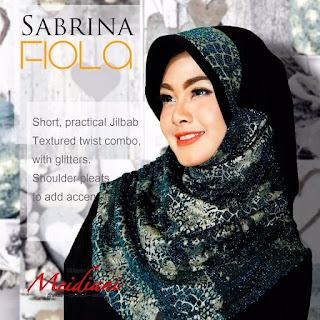 Jilbab Santai Mewah Sabrina Fiola