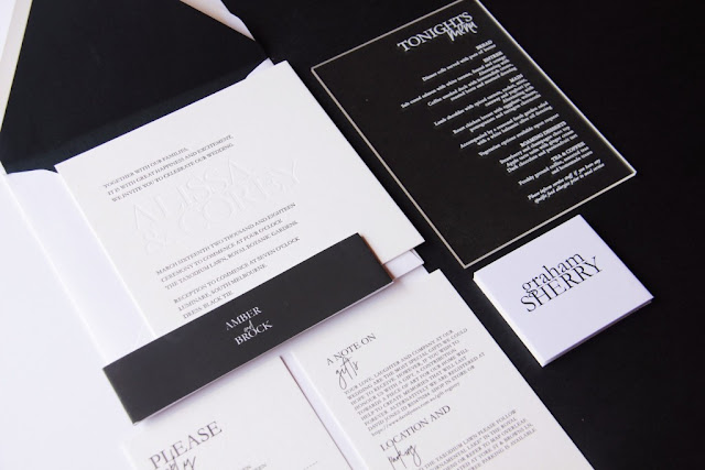 MELBOURNE WEDDING INVITATIONS AND SIGNAGE STATIONERY