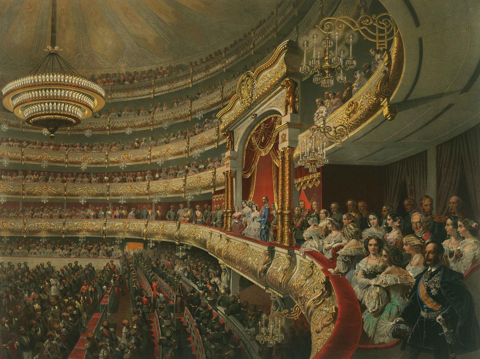 Михай Зичи Спектакль в Большом театре