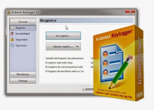 Ardamax Keylogger Español Full 4.2