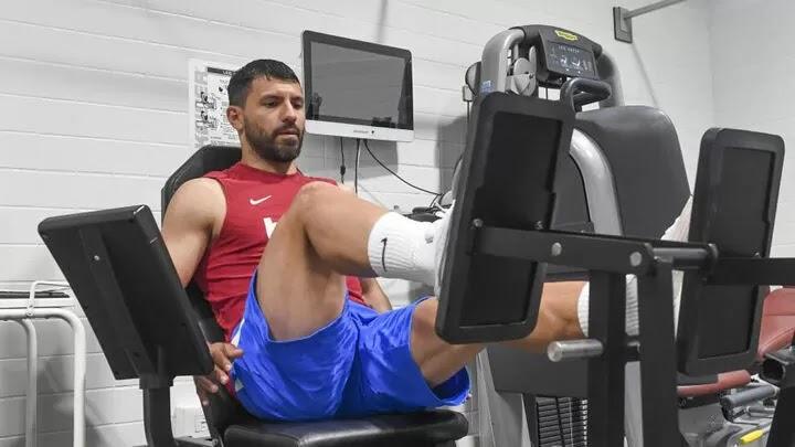 Aguero misses Gamper Trophy after being advised to rest