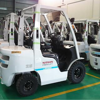 Xe nâng diesel Nissan Unicarriers