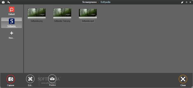 تحميل برنامج تصوير سطح المكتب للكمبيوتر Screenpresso 1.7