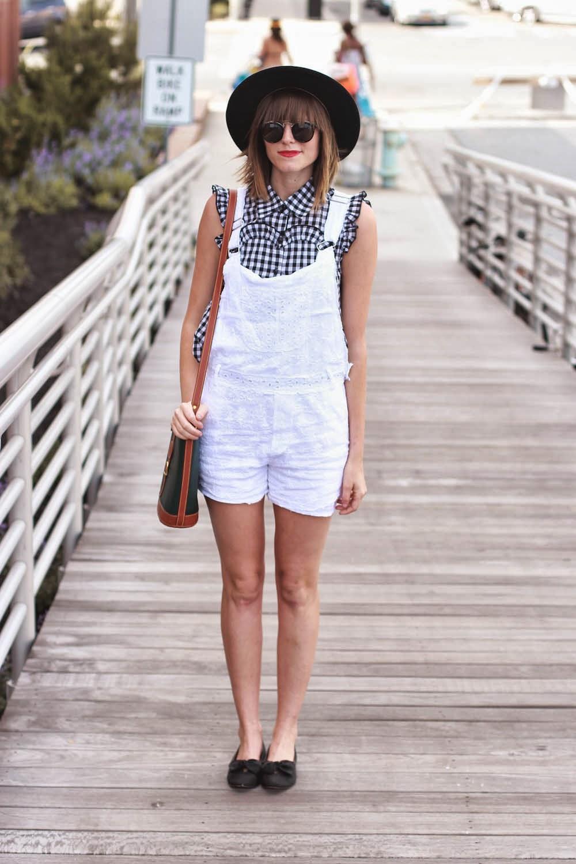 white overalls in long beach new york