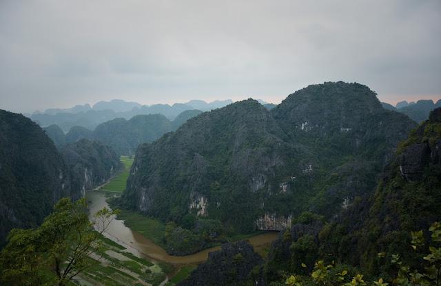 Mua Cave view