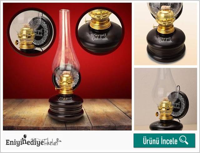 hediyelik gaz lambası