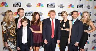 Anak Istri Keluarga donald Trump