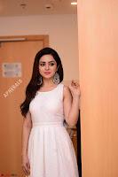 Ragini in Beautiful Cream Sleeveless Gown Perfect makeup ~  Exclusive 017.jpg