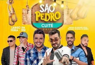 Prefeito de Cuité anuncia festa de São Pedro sem custos para a Prefeitura