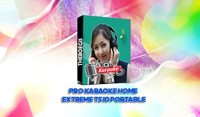 Pro Karaoke Home Extreme TS 10 PORTABLE