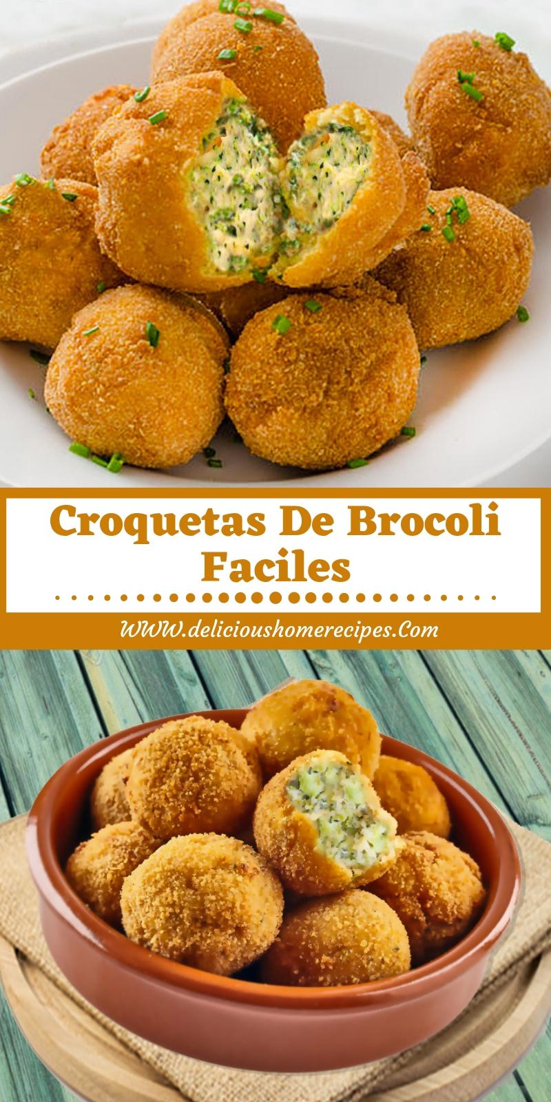 Croquetas De Brocoli Faciles