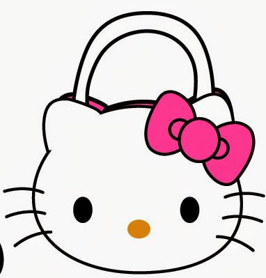 Bolsa de Hello Kitty. Con plantilla.