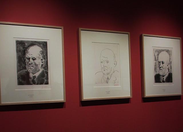 gravuras de Ambroise Vollard por Pablo Picasso