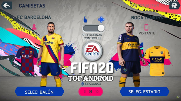 Best Mod 2020.Fifa 20 Mod Fifa 14 Android Offline 800 Mb New Menu Face