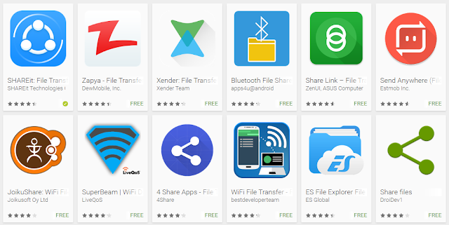Top free file transfer apps