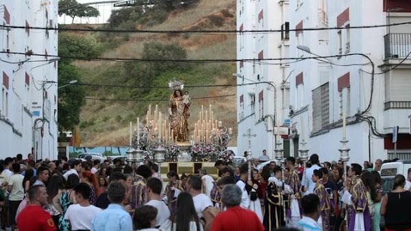 Horario e Itinerario de la procesión de la Virgen del Carmen de Huelva