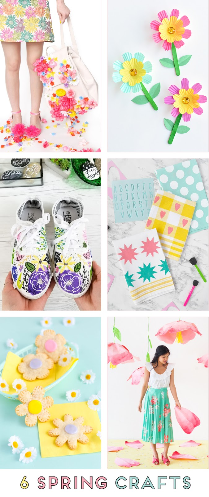 6 PASTEL SPRING CRAFTS TO MAKE AND DO
