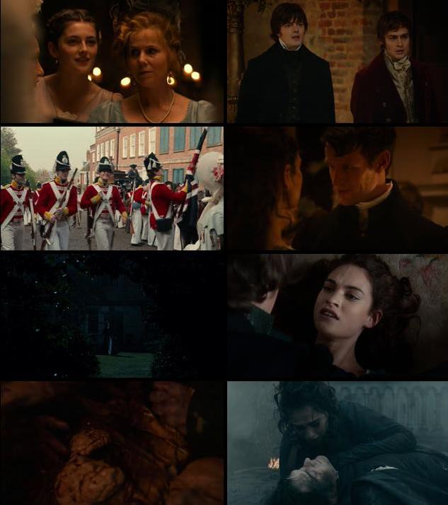 Pride and Prejudice and Zombies 2016 English 480p BRRip