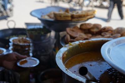 Kuah Kari, Penjual cemilan Old Delhi