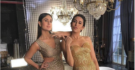 Kapoor sisters in Lux commercial