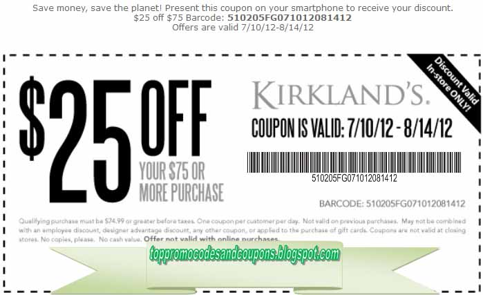 Other Ways to Find Kirkland's Coupons