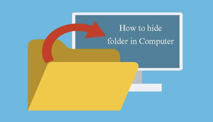 computer me folder ko hide kaise kare