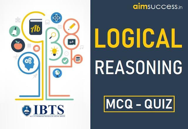 Reasoning MCQ for Indian Bank/IBPS PO 2018: 06 Sep