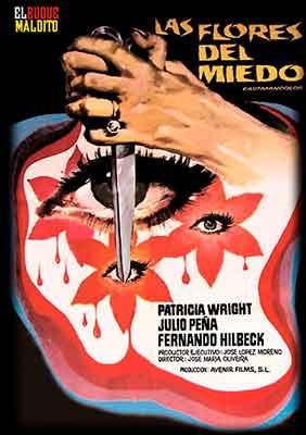 Las flores de miedo de Jose María Oliveira editada en DVD por El Buque Maldito