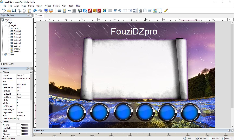 تحميل برنامح ممتاز لإنشاء أقراص التشغيل التلقائي للبرامج وأفلام وغيرها بسهولة AutoPlay Media Studio 8.5.3 مع التفعيل