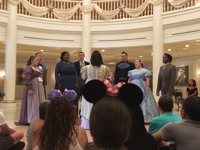 Voices of Liberty Performing Epcot Disney World