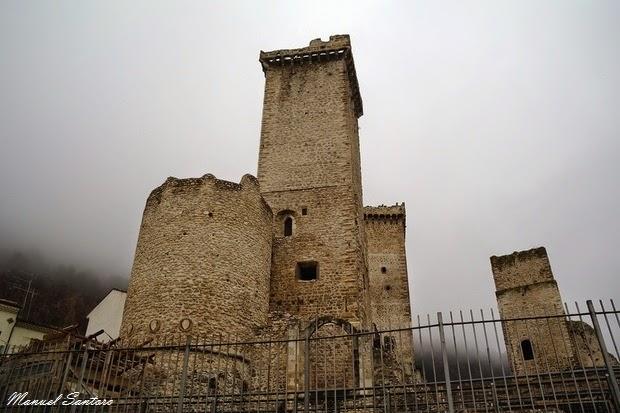 Pacentro, Castello dei Caldora