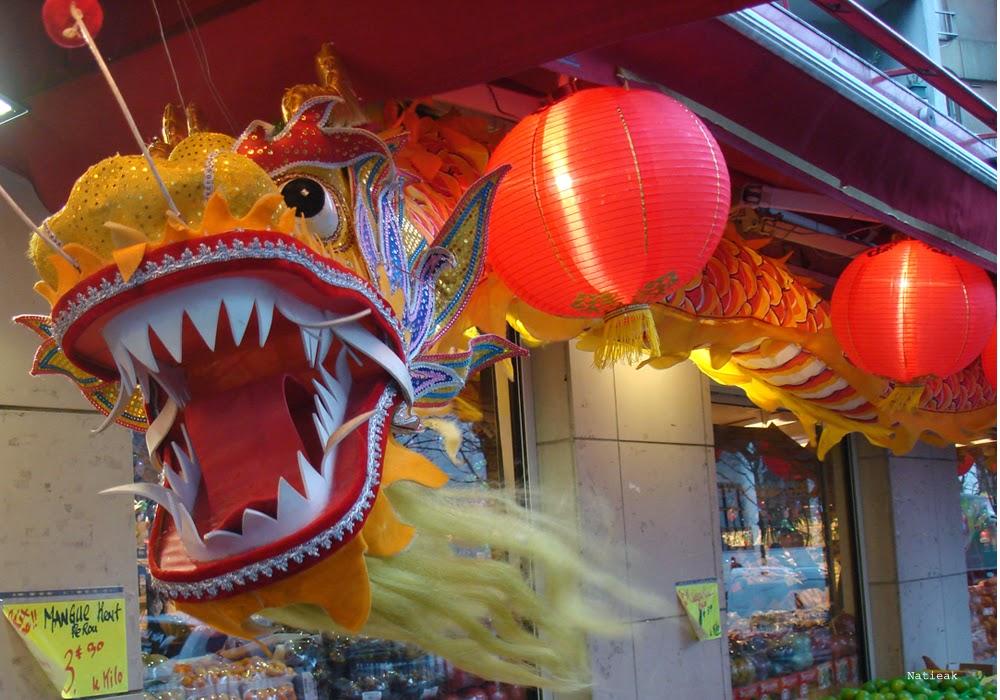 13eme arrondissement  Le nouvel an chinois