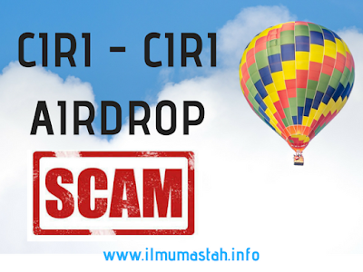 Ciri - Ciri Airdrop Scam