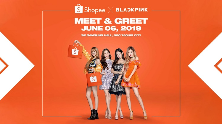 Get a Chance to Join Shopee x Blackpink Meet and Greet on June 6