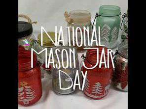 National Mason Jar Day Wishes Awesome Picture